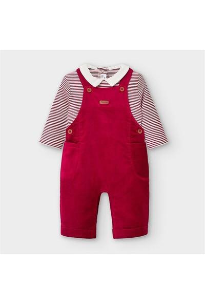 Mayoral Yenidoğan Erkek Bebek Salopet Takım
