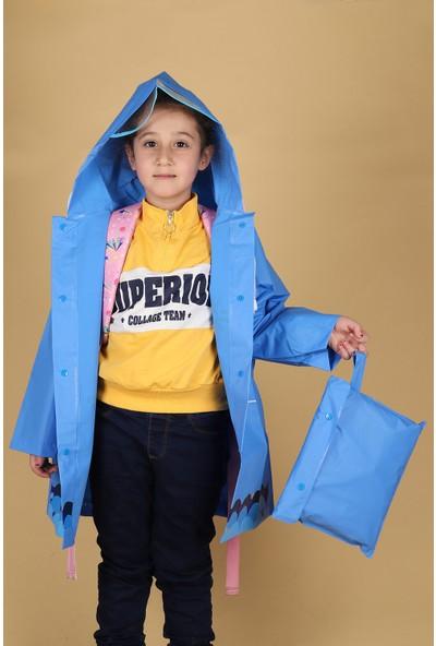 Sanbe 905 S 7001 Eva Erkek Çocuk Su Geçirmez Yağmurluk
