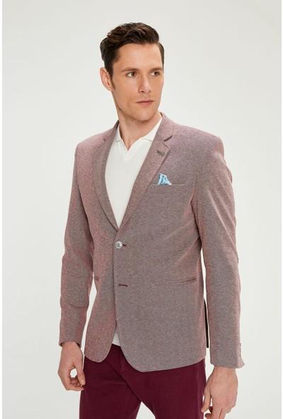 Cekmon Erkek Dirsekte Yama Detaylı Ceket