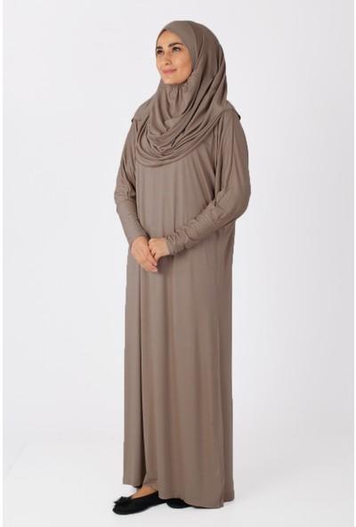 Sahra Şal Dünyasi Namaz Elbisesi Tek Parça Vizyon