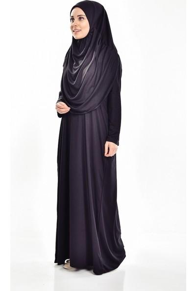 Sahra Şal Dünyasi Namaz Elbisesi Tek Parça