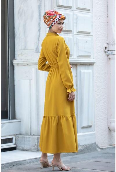 Piennar Vera Hardal Tesettür Elbise