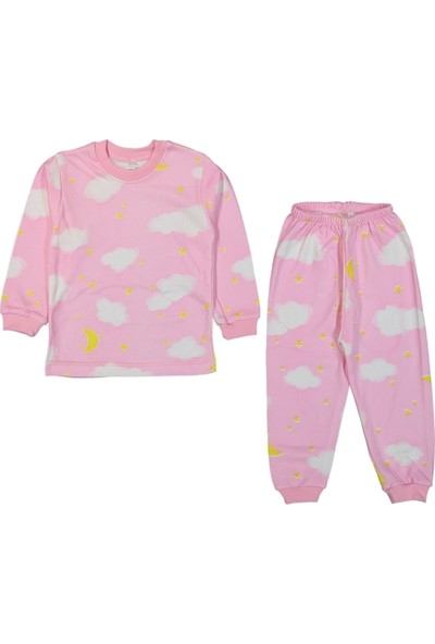 My Jully Bulutlu Pijama Takımı