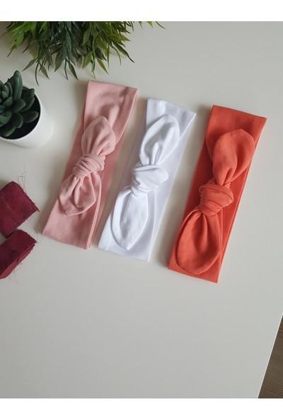 Swanbutik Renkli Kız Çocuk Bebek Bandana Seti 'lü
