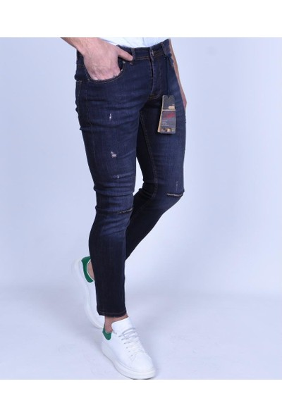 Las Vegas Lacivert Skınny Jeans