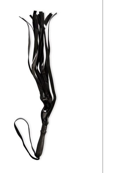 Vip Madame Kadın Fantazi Uzun Siyah Kırbaç