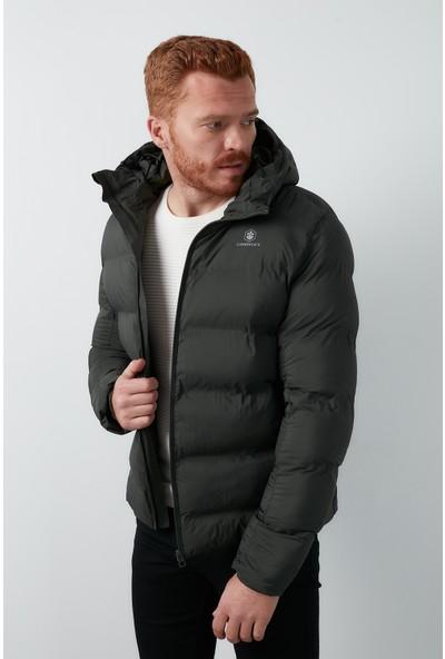 Lumberjack Kapüşonlu Şişme Mont Erkek Mont Nolan Coat
