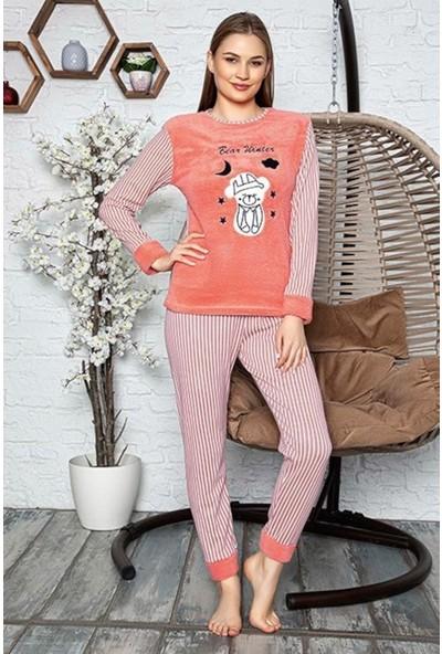 Rinda Bear Winter Peluş Pijama Takımı