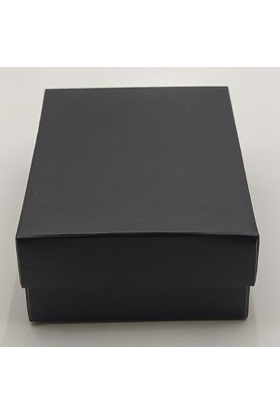 Özer Kutu Siyah Karton Kolye & Mini Set Kutusu İçi Süngerli 24'lü Paket