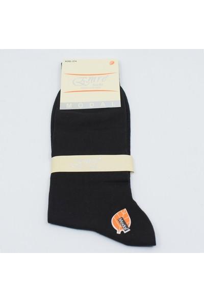 Emre 6 Çift Modal Erkek Yazlık Çorap Ince