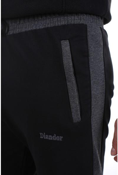 Diandor Düz Paça Erkek Eşofman Altı Siyah/black 2028002