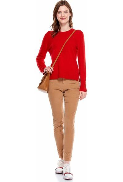 United Colors Of Benetton Kadın Kadife 5 Cepli Pantolon