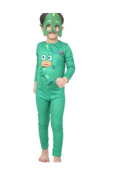 Neşe Hatun Pijamaskeliler Kertenkele Çocuk Kostümü