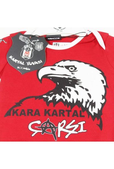 Kartal Yuvası Beşiktaş Lisanslı Kartal Yuvası Bebek Zıbın 005