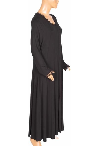 Shine, Tuana Kuplu Boydan Penye Siyah Elbise
