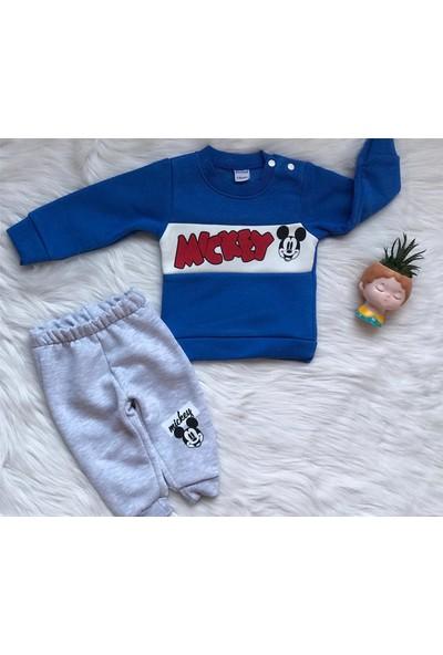 Baby Wood Erkek Kışlık Bebek Takım Mavi