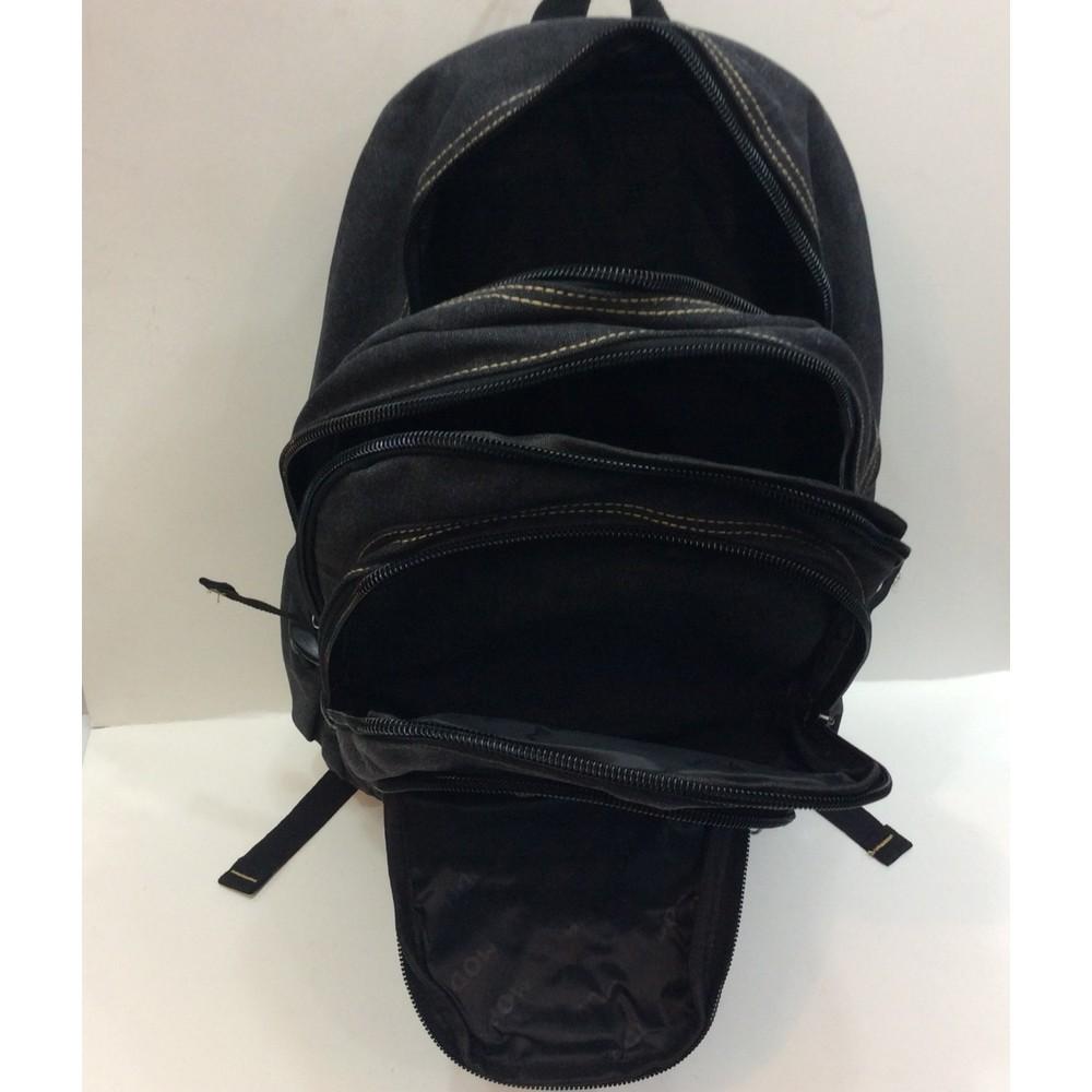 8a0926b7cfa13 Moda Canvas Kumaş Erkek Büyük Boy Sırt Çantası - Siyah Fiyatı