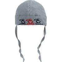 Bay Şapkacı Erkek Bebek Çizgili Bermuda Şapka