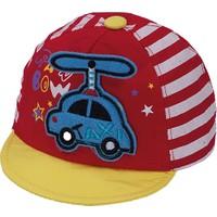 Bay Şapkacı Erkek Bebek Helikopterli Kep Şapka