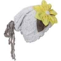 Babygiz Papatya Aksesuarlı Saçaklı Şapka