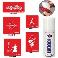 One Spray Tattoo 7701625 Darkblue Spray Set 16