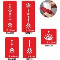 One Spray Tattoo 7705305 5Li Şablon Set 53