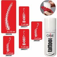 One Spray Tattoo 7705715 Siyah Spray Set 57
