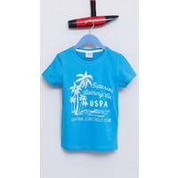 U.S. Polo Assn. Erkek Çocuk Alfredo T-Shirt Mavi