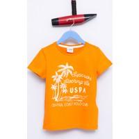 U.S. Polo Assn. Erkek Çocuk Alfredo T-Shirt Turuncu
