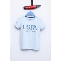 U.S. Polo Assn. Erkek Çocuk Geart T-Shirt Turkuaz