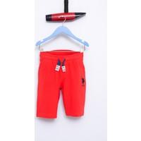 U.S. Polo Assn. Erkek Çocuk Gunderiy7 Şort Kırmızı Kırmızı