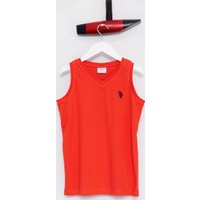 U.S. Polo Assn. Erkek Çocuk Rusti T-Shirt Kırmızı