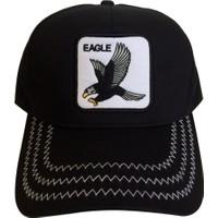 Kazandıran Outlet Kartal Eagle Fileli Şapka Kep Erkek