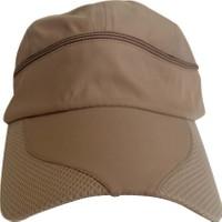 Kazandıran Outlet Erkek Sütlü Kahve Gölgelikli Şapka