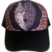 Kazandıran Outlet Kurt Fileli Şapka Kep Erkek