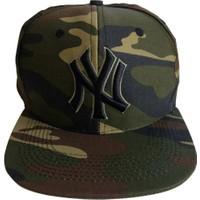 Kazandıran Outlet Erkek Ny Kamuflaj Şapka Kep Erkek
