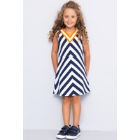 U.S. Polo Assn. Kız Çocuk Vorbin Elbise Lacivert