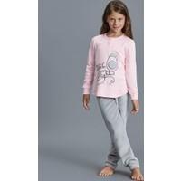 Dagi Kız Çocuk Pijama Takımı Pembe K0216K0150