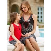 Dagi Kız Çocuk Şort Takımı Kırmızı C0216Y0250