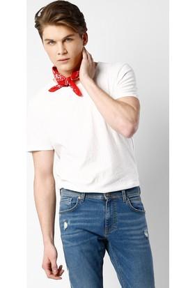 Colin'S Beyaz Erkek T-Shirt Kısa Kol Cl1025255