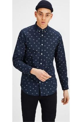 Jack & Jones Jorchoppy Shirt Ls Erkek Gömlek 12120632