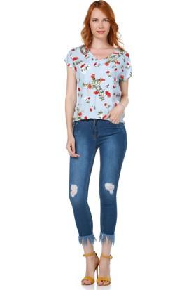 Dewberry Z6336 Kadın Jean Pantolon