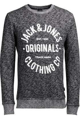 Jack&Jones Erkek Sweatshırt 12112149 Jorclemens Sweat