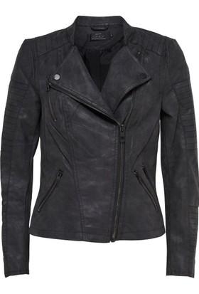 Only Bayan Deri Ceket 15102997 Leather Bıker