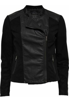 Only Bayan Deri Ceket 15106805 Black