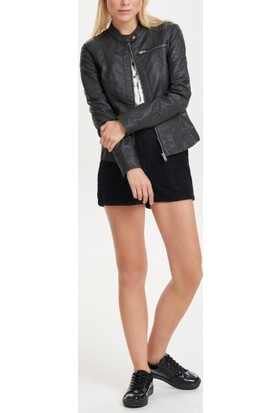 Only Bayan Deri Mont 15119515 New Start Faux Leather Jacket