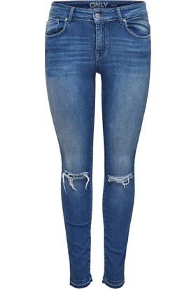 Only Bayan Yırtıklı Kot Pantolon 15129205 Carmen Reg Ankle Jeans