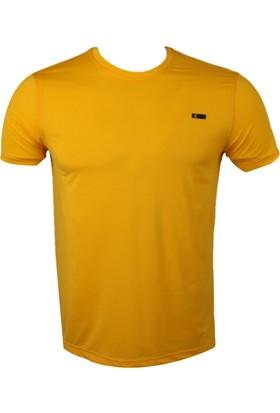 Exuma Sarı Erkek T-Shirt 181245 Sarı