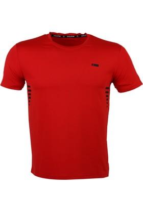Exuma Kırmızı Erkek T-Shirt 181247 Kırmızı