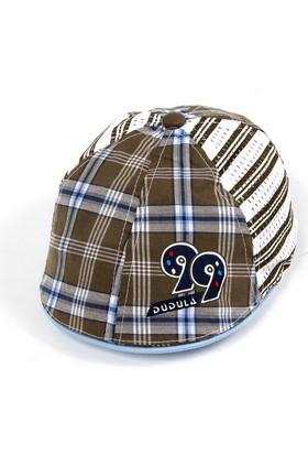 Bay Şapkacı Erkek Çocuk Fileli Kasket Şapka